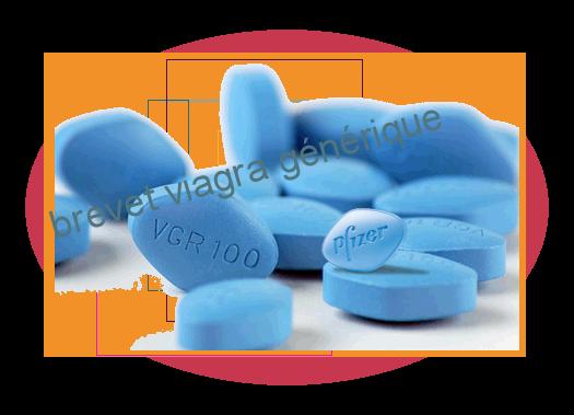 brevet viagra générique image
