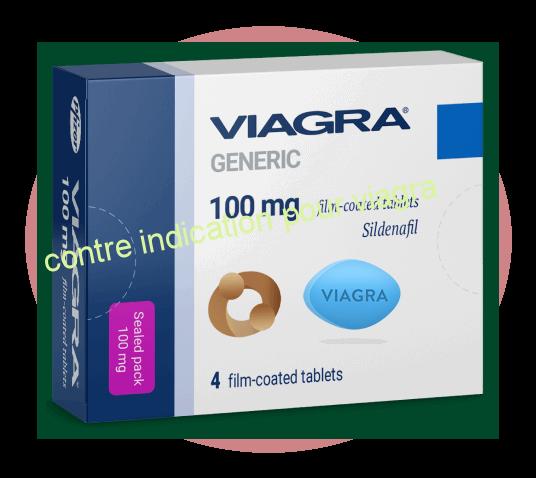 contre indication pour viagra conception