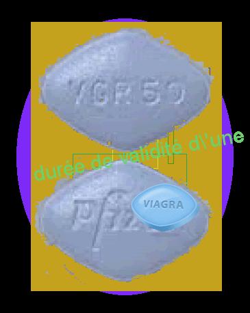 durée de validité d'une ordonnance viagra conception