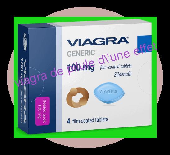 viagra de pilule d'une effet projet